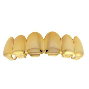 Grillz - Gold - *One size fits all* - TOP