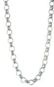 925 Sterling Silver Gents Belcher Chain - 50cm , 15 Grammes