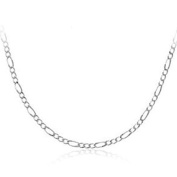 41cm Figaro Chain Sterling silver - Top Quality Ladies Chain. Trace Chain for Pendants.