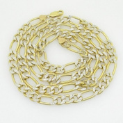 """Gold-Chains Mens 10K yellow gold franco cuban miami figaro bullet rope fancy chain gc110 Length - 30"""" Width - 8mm"""