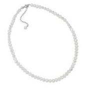 Freshwater Pearl Necklace With Sterling Silver Clasp, Adjustable In Length 16-46cm .