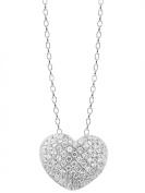 trendor 66288 Silver Collier Heart