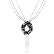 Little Treasures - Sterling Silver Algerian Love Knot Necklace