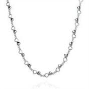 Sheenashona Jewellery 21st Birthday Gift Sterling Silver Love Heart Necklace