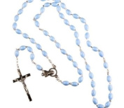 Blue Rosary Bead Boy's First Holy Communion gift