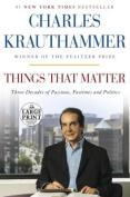 Things That Matter [Large Print]