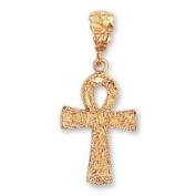 LIOR - Pendant Egyptian Ankh Cross - Gold plated