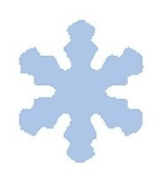 Woodware Craft Collection Mini Craft Punch Snowflake
