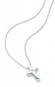 Boys Sterling Silver Cross Necklace P2412
