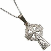 Boy's Holy Communion Gift. Sterling Silver Celtic Cross and Chain. Gift for First Holy Communion.