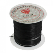 Jewellery Pendant Beading Thread Black Elastic Crystal String Cord Spool 9M