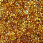 Polished Golden Baltic Amber Beads with holes, Weight: 10 gramme, Amber Size: +3mm-8mm, Amber Colour