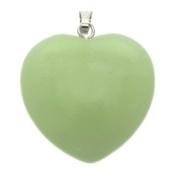 New Jade Heart Pendant