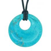 Lucky Scorpio Birthstone Agogo Pendant Zodiac Astrology Gemstone Turquoise Howlite