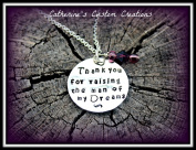 Mother of the Groom / Bride Thank You Gift Necklace