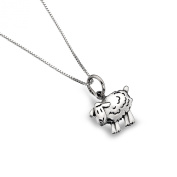 Sterling Silver Sheep Cute Pendant