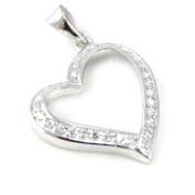 """Pendant silver """"Love""""."""