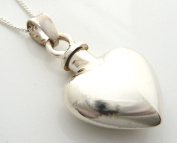 StonesandSilver, sterling silver, plain silver , screw top locket
