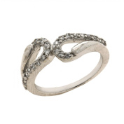 Indian Ring Micro Pave Sterling Silver Jewellery For Women RingSize