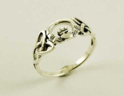 Ring Silver Claddagh Celtic
