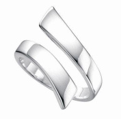 SOLID SILVER HEAVY ADJUSTABLE THUMB RING