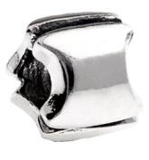 Silverado 'Letter I' Silver Charm - Fits On Pandora Chamilia And Troll Bracelets