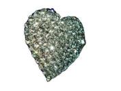 Klaritta Party Wedding Bridal Diamond Shine Rhinestone Crystal Heart Adjustable Ring FR27