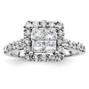 14ct Diamond Bridal Engagement Ring - JewelryWeb