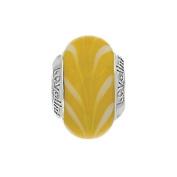 Lovelinks 11821127-99 'Current River/Lemon' Murano Glass Bead