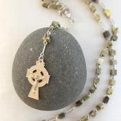 Connemara Marble Irish Marble Rosary Beads