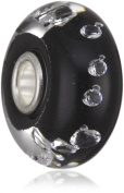 Trollbeads Diamante Bead, Black 81002