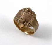 Historic Jewellery Reproduction 9 carat Gold - Fede ring - Unisex