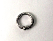 Ball Closure Ring - 1.2 mm Surgical Stainless Steel Diameter 8 mm Ball 3 mm