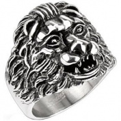 Grave Lion Ring Size Z or 13 By Pegasus Body Jewellery