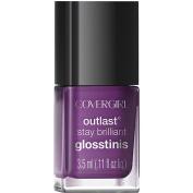 COVERGIRL Outlast Stay Brilliant Glosstinis Nail Polish, 540 Purple Freeze, 5ml