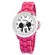 Disney Women's Mickey Mouse Enamel Sparkle Bracelet Watch