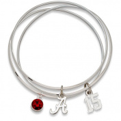 NCAA - Alabama Crimson Tide 2012 BCS National Champions Triple Bangle Bracelet
