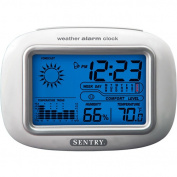 Sentry Big Screen Weather Alarm Clock