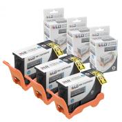 LD © Compatible Lexmark 150XL / 14N1614 Set of 3 Black Inkjet Cartridges for Lexmark Pro 715, Pro 915, S315, S415 & S515 Printers