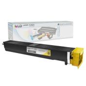 LD © Compatible Yellow Laser Toner Cartridge for Konica Minolta A0TM230 (TN613Y) for Bizhub C452, Bizhub C552 and Bizhub C652