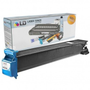 LD © Compatible Konica-Minolta A0D7435 / TN214C Cyan Laser Toner Cartridge for Bizhub C200