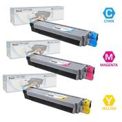 LD © Compatible compatible with compatible with compatible with Oki data C830dn / C830dtn / C830n Set of 3 Colour Toner Cartridges
