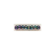 Mill Hill 258615 Mill Hill Glass Beads Size 6-0 4mm 5. 2 Grammes-Pkg-Rainbow
