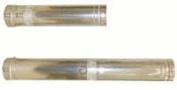 Noritz VP4-60ADJ AL29-4C , Vent Pipe, Stainless Steel