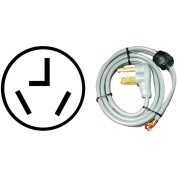 Petra 3-Wire Quick-Connect Dryer Cord, Closed Eyelet