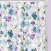 Creative Bath Bouquet Polyester Shower Curtain