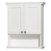 Wyndham Collection Acclaim 60cm . Wall Cabinet - White