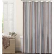 Maytex Jodie Fabric Shower Curtain