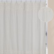 Creative Bath Can Can Cotton Polyester Blend Shower Curtain
