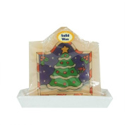 11cm Decorative Christmas Tree Christmas Candle with Real Wax